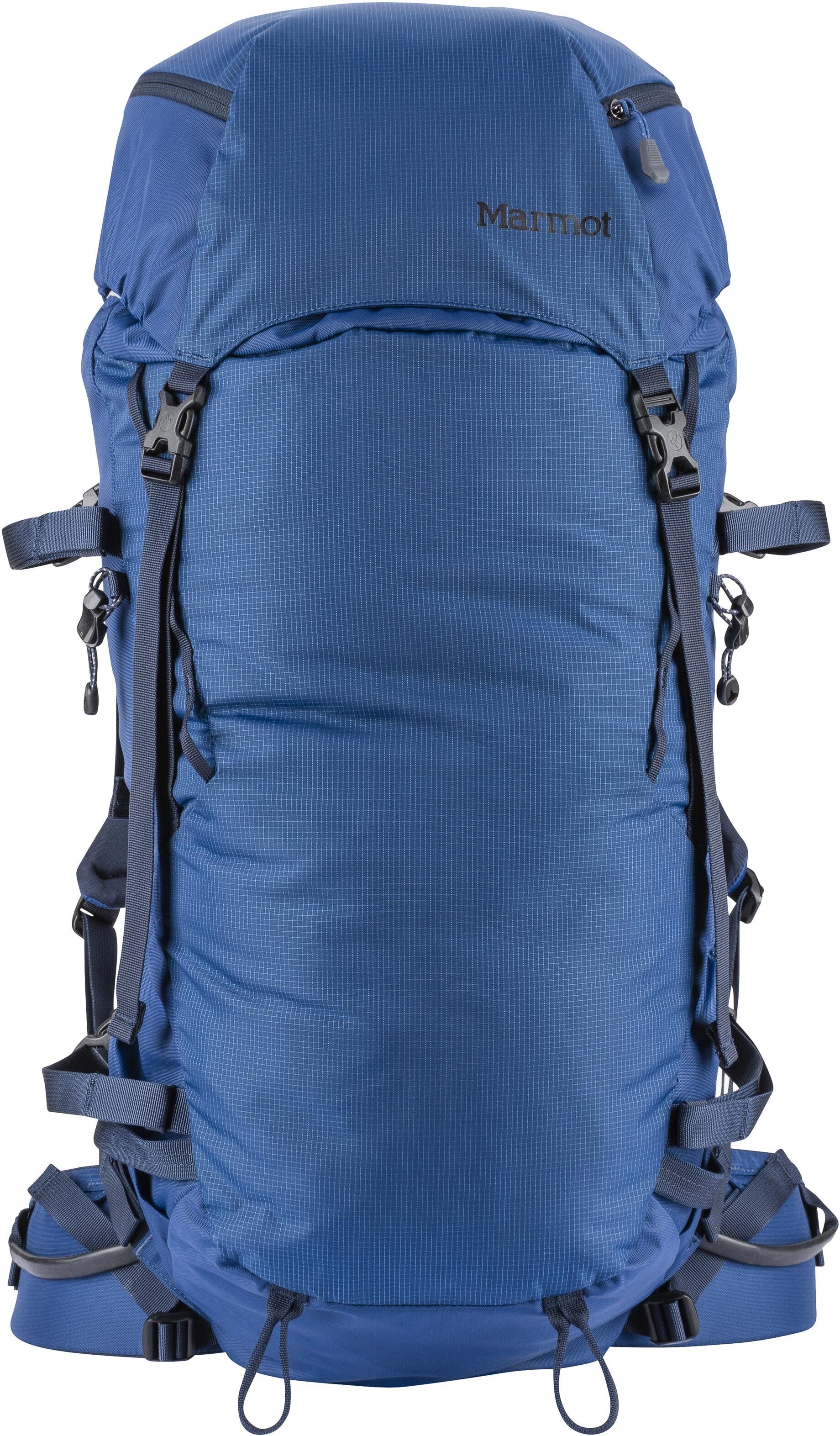 2ce0e4c4c5 Marmot Eiger Rock Zaino blu su Addnature